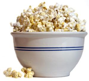 Popcorn kan vara nyttigt